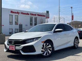 Used 2018 Honda Civic Hatchback LX  - Bluetooth - Rear camera - Heated Seats for sale in Mississauga, ON