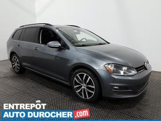 Used 2017 Volkswagen Golf Sportwagen Comfortline - AWD- CUIR TOIT OUVRANT - CLIMATISEUR for sale in Laval, QC
