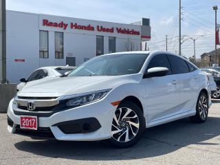 Used 2017 Honda Civic Sedan EX  - Sunroof - Lane watch - Rear Camera for sale in Mississauga, ON