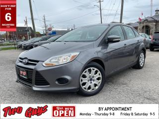 Used 2013 Ford Focus SE | Local Trade | Certified | Auto | Bluetooth | for sale in St Catharines, ON