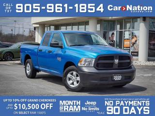 Used 2020 RAM 1500 Classic ST| COMPANY DEMO| LOW KM'S| for sale in Burlington, ON