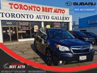Used 2015 Subaru Forester XT LimitedW/Tech Pkg|NO ACCDNT!ADPTV CRSE|LANE ASST|PANO|NAV for sale in Toronto, ON
