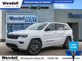 New 2021 Jeep Grand Cherokee 80th Anniversary Edition | Pano Roof | Tow Pkg for sale in Kitchener, ON
