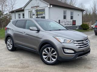 Used 2013 Hyundai Santa Fe 1-Owner No-Accidents Limited AWD Navi Pano Roof Backup Cam for sale in Sutton, ON