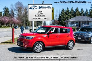 Used 2016 Kia Soul Local, No Declarations, Low 115k, Bluetooth, Financeable! for sale in Surrey, BC