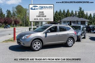 Used 2008 Nissan Rogue SL AWD, Local, Leather, Sunroof, Low 135k, Loaded! for sale in Surrey, BC