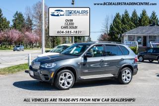 Used 2012 BMW X5 AWD 35d M Sport Package Diesel, ONLY 43,000 km's, CLEAN! for sale in Surrey, BC