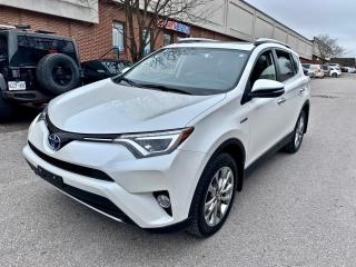 Used 2016 Toyota RAV4 Hybrid 4dr Limited, NAV, SUNROOF, LEATHER for sale in North York, ON