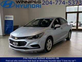 Used 2017 Chevrolet Cruze LT for sale in Winnipeg, MB