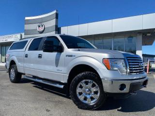Used 2012 Ford F-150 XTR 4WD CREW LB ECO-BOOST PWR SEAT CANOPY for sale in Langley, BC