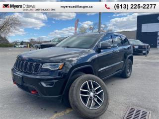 Used 2017 Jeep Grand Cherokee Trailhawk  TRAILHAWK, NAV, SUNROOF, V6, LOADED for sale in Ottawa, ON
