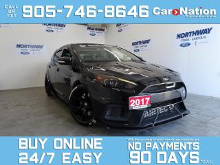 Used 2017 Ford Focus RS | AWD | RECARO SEATS | NAV | ROOF |LOTS OF MODS for sale in Brantford, ON