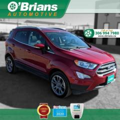 Used 2020 Ford EcoSport Titanium w/Mfg Warranty, 4WD, Backup Camera, Heated Seats for sale in Saskatoon, SK