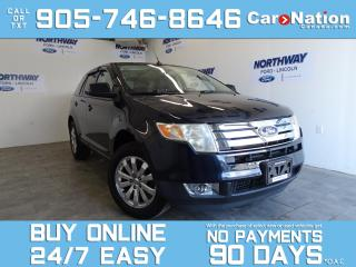 Used 2010 Ford Edge SEL | AWD | PANO ROOF | LEATHER | CHROME RIMS for sale in Brantford, ON