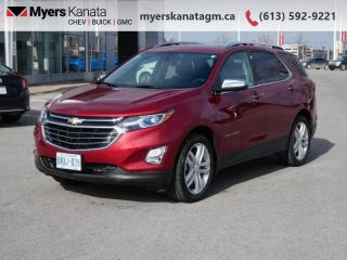 Used 2018 Chevrolet Equinox Premier  - Leather Seats for sale in Kanata, ON