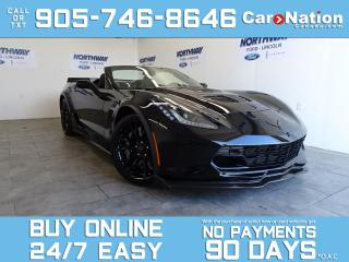 Used 2017 Chevrolet Corvette 3LZ | Z06 SUPERCHARGED | CALLAWAY 757 |CONVERTIBLE for sale in Brantford, ON