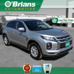 Used 2020 Mitsubishi RVR SE w/Mfg Warranty, 4WD, Backup Camera, Heated Seats, Cruise for sale in Saskatoon, SK