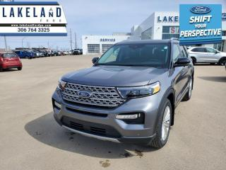 New 2021 Ford Explorer Limited  - Leather Seats - Sunroof - $333 B/W for sale in Prince Albert, SK