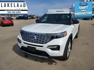 New 2021 Ford Explorer Platinum  - Leather Seats - $410 B/W for sale in Prince Albert, SK