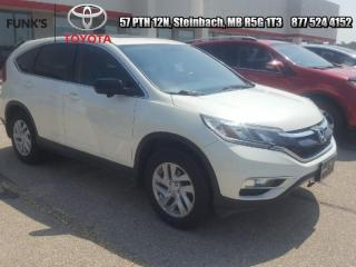Used 2015 Honda CR-V 5DR AWD EX-L for sale in Steinbach, MB