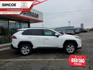 New 2021 Toyota RAV4 XLE AWD  - Sunroof -  Heated Seats for sale in Simcoe, ON
