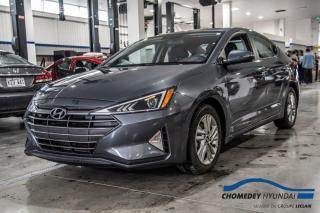 Used 2020 Hyundai Elantra Preferred+VOLANT/SIEGES CHAUFFANTS+APPLE CARPLAY for sale in Laval, QC