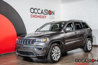 Used 2017 Jeep Grand Cherokee Limited 4X4 TOIT+CUIR CHAUFFANT+NAVIGATION for sale in Laval, QC