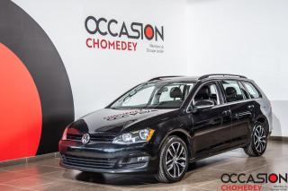 Used 2016 Volkswagen Golf TSI+TOIT PANO+NAVI+CUIR CHAUFFANTS+CAMERA DE RECUL for sale in Laval, QC