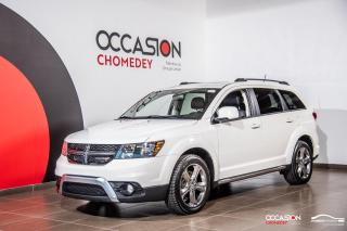 Used 2016 Dodge Journey Crossroad AWD+TOIT+NAVI+CUIR CHAUFFANT for sale in Laval, QC