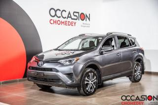 Used 2016 Toyota RAV4 LE+CAMERA DE RECUL+SIEGES CHAUFFANTS+GR.ELECT for sale in Laval, QC