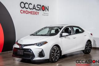 Used 2017 Toyota Corolla XSE+TOIT OUVRANT+CUIR CHAUFFANT+NAVIGATION for sale in Laval, QC