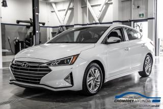 Used 2020 Hyundai Elantra Preferred+VOLANT/SIEGES CHAUFFANTS+APPLE CARPLAY for sale in Laval, QC