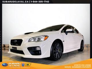 Used 2017 Subaru WRX 2.0 *Caméra recul, sièges chauffants* for sale in Laval, QC