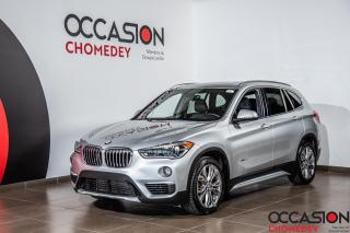 Used 2016 BMW X1 XDrive28i+CUIR CHAUFFANT+CAMERA360 for sale in Laval, QC