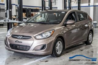 Used 2013 Hyundai Accent GL+SIEGES CHAUFFANTS+REG DE VITESSE for sale in Laval, QC