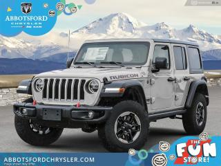 New 2021 Jeep Wrangler Rubicon Unlimited  - Leather Seats - $405 B/W for sale in Abbotsford, BC