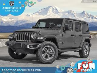 New 2021 Jeep Wrangler Sahara Unlimited  -  Android Auto - $372 B/W for sale in Abbotsford, BC