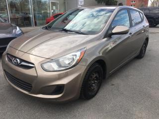 Used 2012 Hyundai Accent 5-dr GL for sale in Longueuil, QC