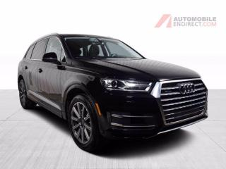 Used 2017 Audi Q7 Komfort Quattro Cuir Toit Pano GPS Caméra 7 Places for sale in St-Hubert, QC