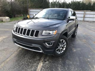 Used 2015 Jeep Grand Cherokee LIMITED 4WD for sale in Cayuga, ON