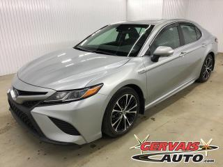 Used 2018 Toyota Camry HYBRID SE Cuir/Tissus Toit Ouvrant Bluetooth Mags for sale in Shawinigan, QC
