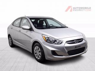 Used 2016 Hyundai Accent GL AUTO A/C for sale in St-Hubert, QC