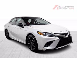 Used 2018 Toyota Camry XSE A/C Mags Cuir Rouge Toit Pano Sièges Chauffant for sale in St-Hubert, QC