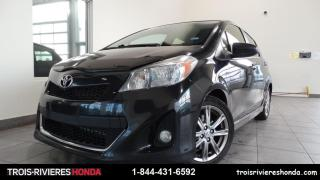 Used 2012 Toyota Yaris SE + TRES BAS KILO + MAGS + AILERON ! for sale in Trois-Rivières, QC