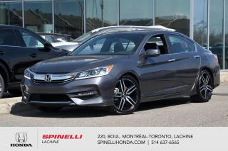 Used 2017 Honda Accord Sport AUTO DEAL PENDING AUTO AC MAGS TOIT BLUETOOTH CAM RECUL++ for sale in Lachine, QC