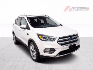 Used 2017 Ford Escape TITANIUM 4X4 CUIR TOIT GPS MAGS CAMERA DE RECUL for sale in St-Hubert, QC