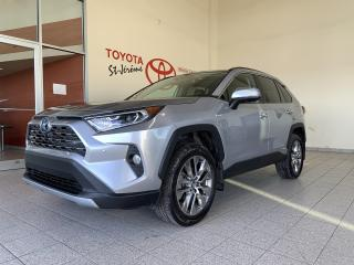 Used 2019 Toyota RAV4 Hybrid * AWD Hybrid Limited * CUIR * TOIT * MAGS * GPS * for sale in Mirabel, QC