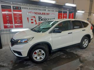 Used 2016 Honda CR-V CRV LX DÉMARREUR A DISTANCE 29000 KM SEULEMENT for sale in Blainville, QC