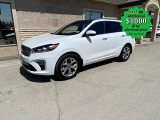 Used 2020 Kia Sorento SX* AWD/7 Seater/Heated-Cooled Seats/NAVIGATION for sale in Winnipeg, MB