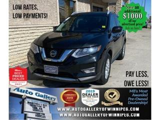 Used 2018 Nissan Rogue SV* AWD/Heated Seats/SATELLITE RADIO for sale in Winnipeg, MB